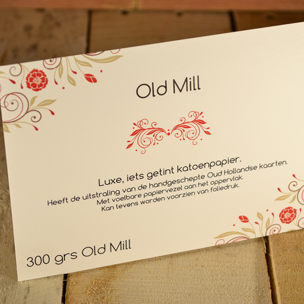 Old Mill papier