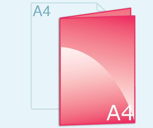 A4 kaart maken